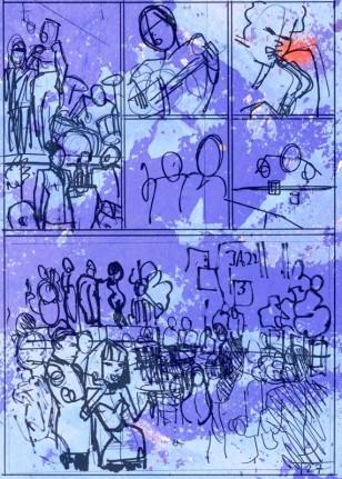 Splinter Het Album - p27 schetswerk en MoArt voor FB